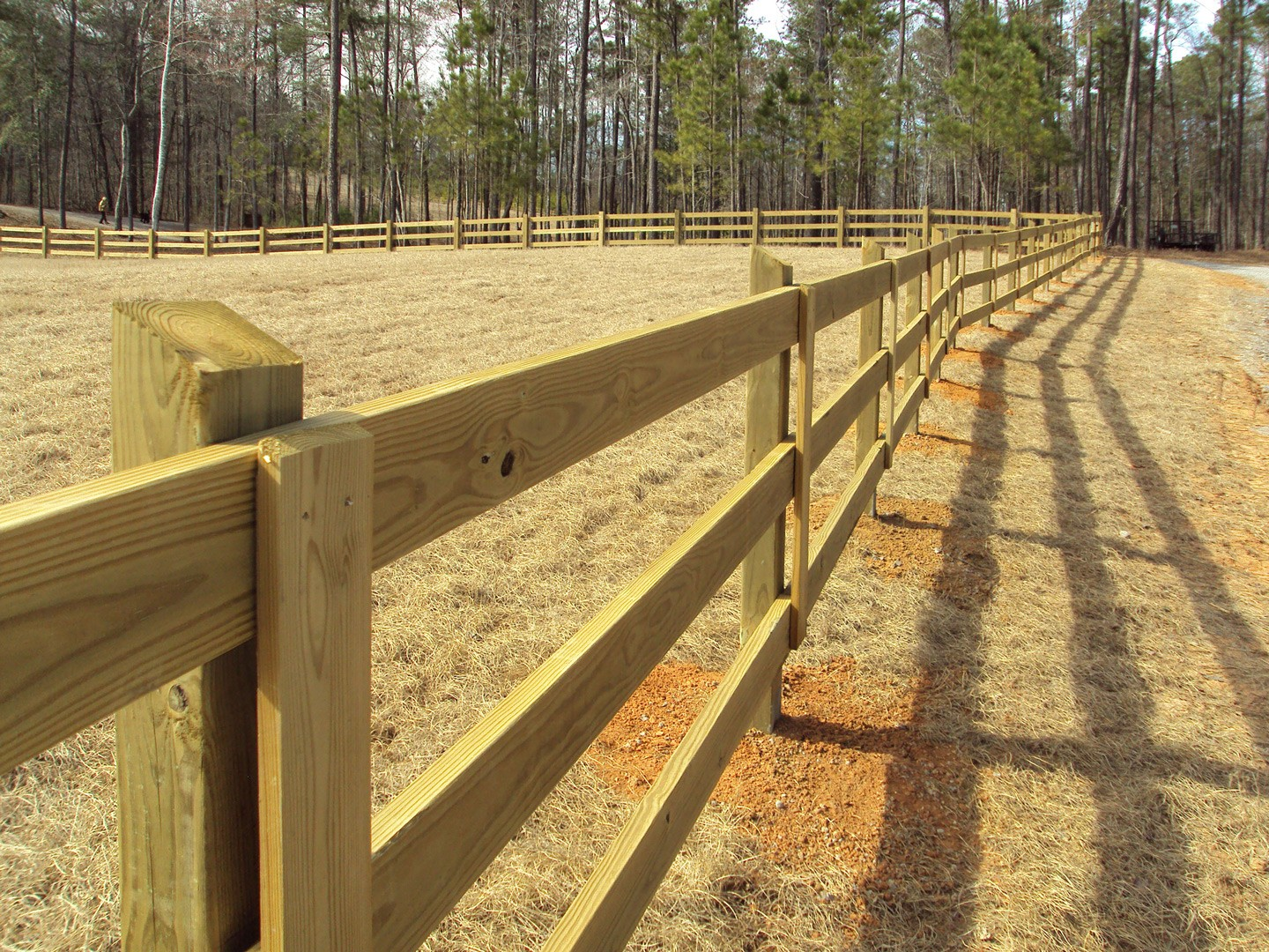 Diy fencing materials anniston al the fence place wood fence for ranch baanklon Gallery